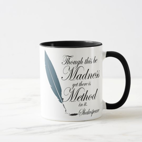 Funny Shakespeare Quote Mug