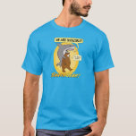 Funny Shark and Bear T-shirt