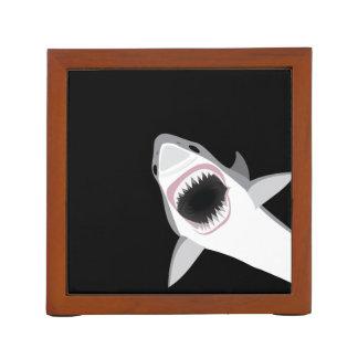 Funny Shark Attack Desk Organiser