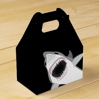 Funny Shark Attack Favour Box