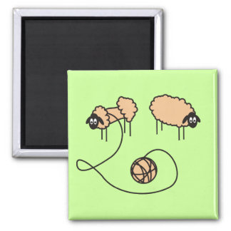 Funny Sheep Magnet