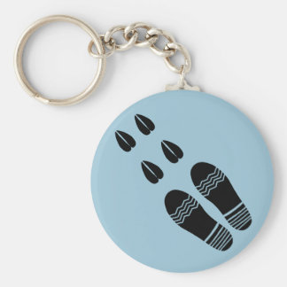 funny Sheep Shagger Basic Round Button Key Ring