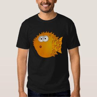 Funny Shocked Puffer fish Tee Shirt