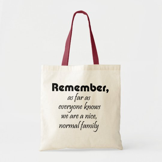 Funny shopping tote reusable bags family gifts