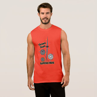 Funny Shot Put Discus Hammer Javelin Throw Tank