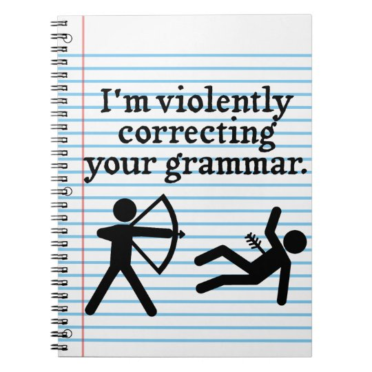 "Funny ""Silently Correcting Your Grammar"" Spoof Spiral"