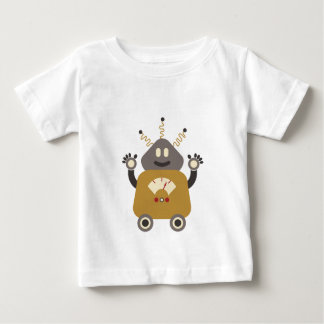 Funny Silly Retro Robot T-Shirt