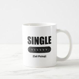 Funny Single Coil Pickup Guitar Coffee Mug