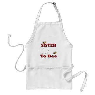 Funny Sister to Be Adult Apron