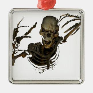 Funny Skeleton Christmas Ornament