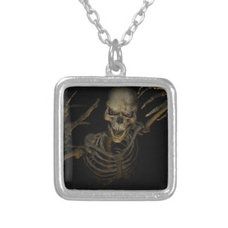 Funny Skeleton Custom Necklace