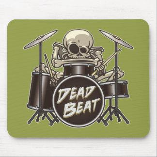 Funny Skeleton Drummer Mouse Mat