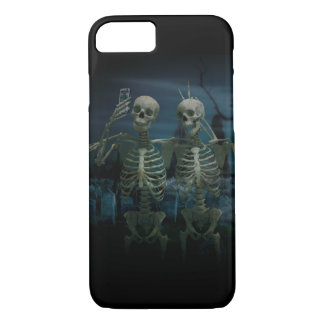 Funny Skeleton Selfie iPhone 7 Case