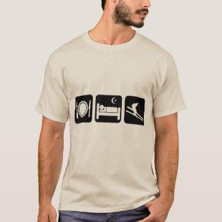 funny skiing T-Shirt