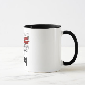 Funny 'sleep 'til noon' mug