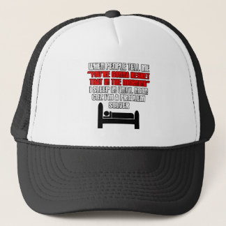 Funny sleep trucker hat