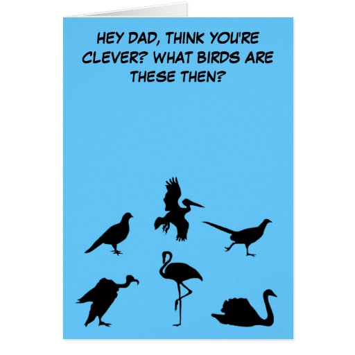 Funny,slightly rude Father's Day Cards