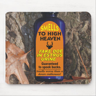 Funny Smells To High Heaven Doe In Estrus Mouse Pad