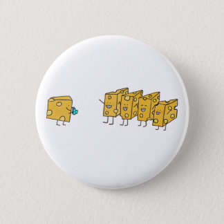 Funny smiles Cheese saying cheese 6 Cm Round Badge