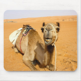 Funny Smiling Camel Mouse Mat