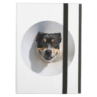 Funny smiling dog case for iPad air