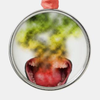 Funny Smoke Weed Life Christmas Ornament