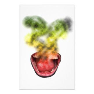 Funny Smoke Weed Life Stationery