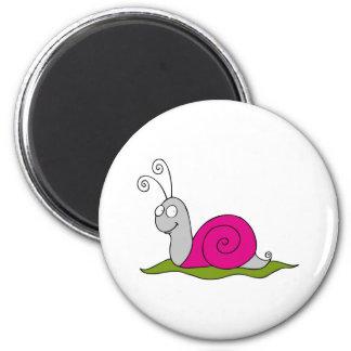 funny snail magnet