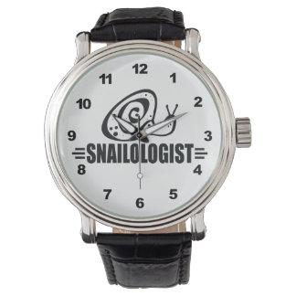 Funny Snail Wristwatch