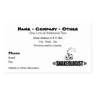 Funny Snake Pack Of Standard Business Cards