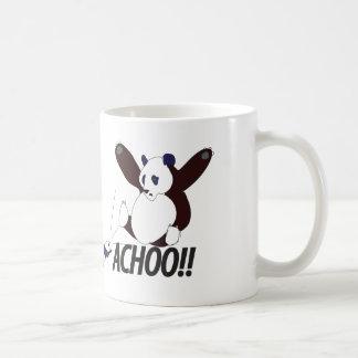 Funny Sneezing Panda Coffee Mug