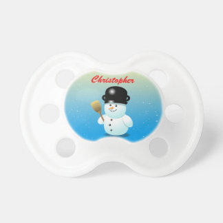 Funny Snowman With A Black Pot On His Head Dummy
