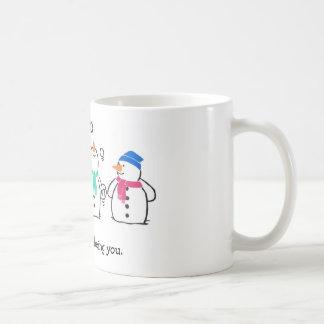 Funny Snowmen Coffee Mug