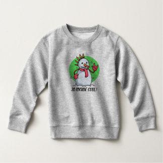 Funny So Rockin' Cool Snowman | Sweatshirt
