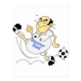 Funny Soccer Dad Postcard