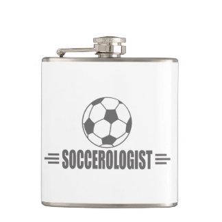 Funny Soccer Hip Flask