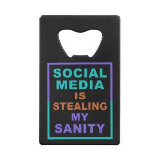"""Funny """"Social Media"""" bottle opener"""