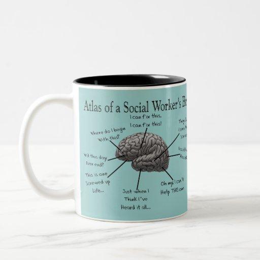 Funny Social Worker Gifts Coffee Mug