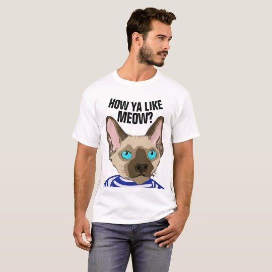 FUNNY SPHYNX DEVON REX T-shirts,HOW YOU LIKE MEOW?