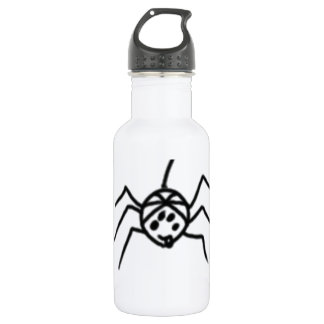 Funny spider 532 ml water bottle