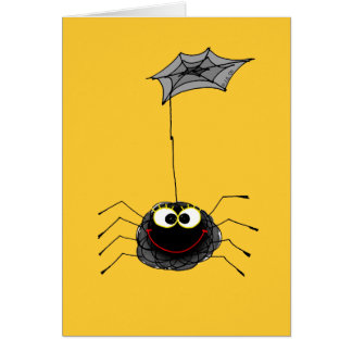 Funny spider cards