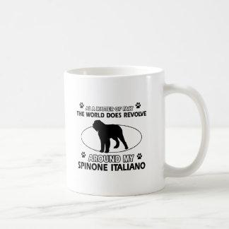 Funny spinone italian designs coffee mug