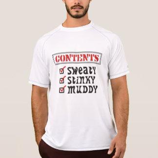 Funny Sports - © Contents: Sweaty, Stinky, Muddy Shirt