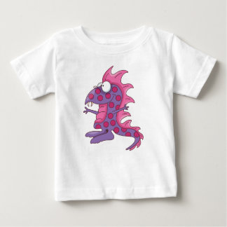 Funny Spotted Purple People Eater Baby T-Shirt