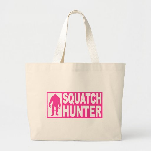 Funny SQUATCH HUNTER Gear  Finding Bigfoot Edition Bag