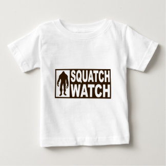 Funny SQUATCH WATCH Gear - Deluxe Finding Bigfoot Baby T-Shirt