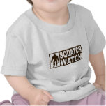 Funny SQUATCH WATCH Gear - Deluxe Finding Bigfoot Tees