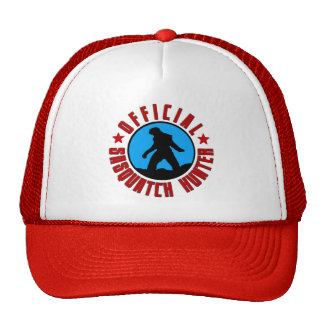 Funny Squatcher Hat - Official Sasquatch Hunter