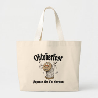 Funny Squeeze Me I'm German Oktoberfest Tote Bags