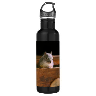Funny Squirrel Hiding 710 Ml Water Bottle